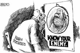 Image result for know your enemy cartoons