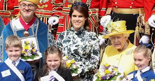 <b>Princess</b> Eugenie Erdem <b>Dress</b> April <b>2019</b> | POPSUGAR <b>Fashion</b>