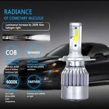 2pcs COB <b>C6</b> H13/9008 54W 5200LM <b>Car LED Headlight</b> Bulb Set ...
