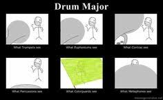 Drum Major on Pinterest   Marching Bands, Band and Drumline via Relatably.com
