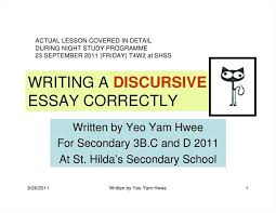 writing discursive essays when writing a discursive essay you should how to write a discursive essay