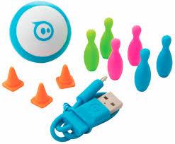 Купить Беспроводной робо-шар <b>Sphero Mini</b>, синий— цена ...