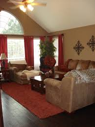 Warm Living Room Colors Warm Family Room Reds And Browns For The Home Pinterest