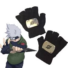 anime naruto gloves