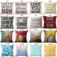 Online Shop Family Affection Series <b>Cushion</b> Letter Throw <b>Pillow</b> ...