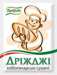 <b>Дрожжи</b> хлебопекарские сухие ТМ Первоцвіт, 10 г, цена 2,22 грн ...