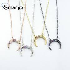 <b>5Pieces</b>, The <b>Rainbow</b> Series <b>Women Fashion</b> Crescent Shape CZ
