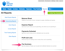 what is a tax summary report freshbooks there are a few things you re able to change when running the tax summary
