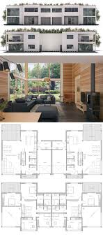 ideas about Duplex House Plans on Pinterest   Duplex House    Duplex House Plan