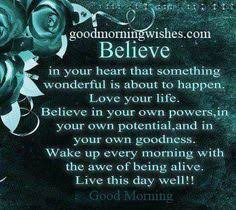 Good Morning Quotes on Pinterest | Morning Quotes, Good Morning ... via Relatably.com