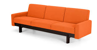 furniture burnt orange leather couch burnt orange living room furniture