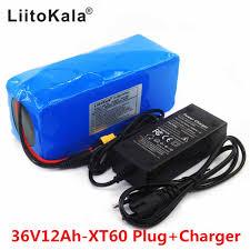<b>LiitoKala</b> 36 v <b>10Ah 10S3P</b> 18650 Rechargeable Battery, Modified ...