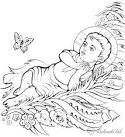 Раскраска о рождестве христовом
