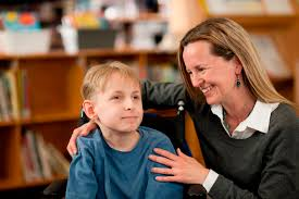 special education careers special education job interview questions special education job interview questions teacher smiling at boy special needs