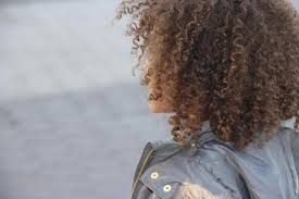 Image result for The back of a young woman's head