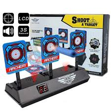 <b>Latest</b> Children Electric Score <b>Bullet</b> Target Toy Automatic Practice ...