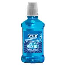 <b>Ополаскиватель</b> для рта <b>Oral</b>-<b>B</b> Complete Lasting Freshness <b>250</b> ml
