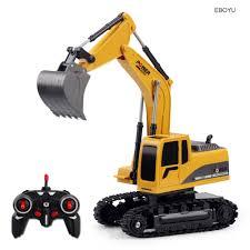 EBOYU 258 1 2.4Ghz 6CH 1:24 RC Excavator Mini RC Truck ...