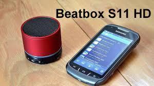 Bluetooth <b>колонка</b> Beatbox by dr. Dre <b>Mini</b> S11 (HD). Обзор от ...