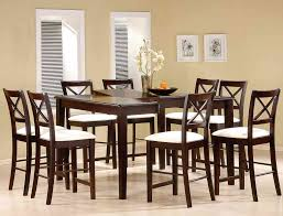 tall dining chairs counter:  dining room inspiring coaster cappuccino finish counter height dining room beautiful rooms to go dining