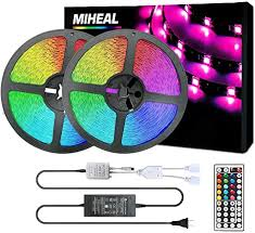 Miheal Led Strip Lights Kit 65.6ft(20M) 5050 SMD ... - Amazon.com