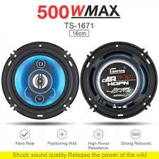<b>2pcs 6 Inch</b> 500W 2 Way <b>Car</b> Auto Audio Music Stereo Full Range ...