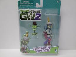 "Plants vs Zombies GW2 Play Figure Set: 3.5"" ZOOLOGIST with ..."