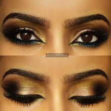 peach arabic makeup look
