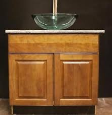 bathroom base cabinets chichester mm details about kraftmaid cherry vesel sink bathroom base cabinet