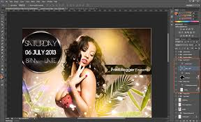 tutorial how to use a party flyer template saxoprint blog uk party flyer template tutorial 02