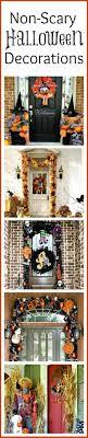 ideas outdoor halloween pinterest decorations: non scary outdoor halloween decorations for your front door