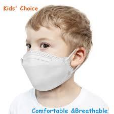 <b>KN95 Kids Face</b> Mask 3-12 Years Old Children Dustproof Anti-fog ...