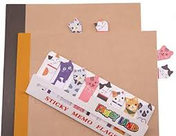 360 Cute Cat Sticky Notes Page Flags Index Tabs for ... - Amazon.com