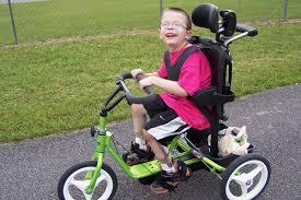 Resultado de imagen de cerebral palsy bike