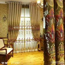 the palace of the king39s european level embroidery luxury curtains for living cheap office lighting