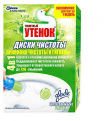 Купить Очиститель <b>унитаза</b> «<b>Туалетный утенок</b>» <b>Диски</b> чистоты ...