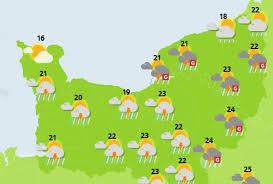 Un après-midi sous un ciel orageux en Normandie : la météo pour le dimanche 10 juin 2018