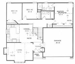 Plan     front to back split level homeFloor Plan
