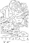 Математические примеры раскраски