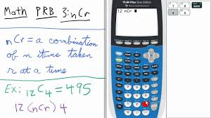 probability combinations ti calculator stats probability combinations ti 84 calculator stats