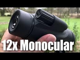Twod 12X50 <b>Monocular</b> High Definition Spotting Scope Portable ...