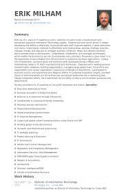 director of information technology resume samples   visualcv    director of information technology resume samples