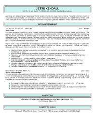 Free Buyer Resume Example