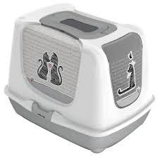 <b>Туалет</b>-домик для кошек <b>Moderna Trendy Cat</b> Cats In Love 50х37 ...