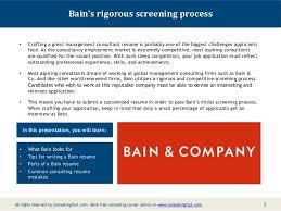 bain resume samplebain resume management sample consulting resume sample