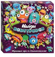 <b>Настольная игра Dream Makers</b> Найди монстриков (... — купить ...