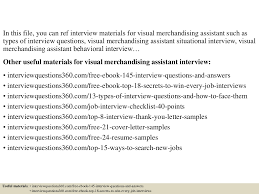 top 10 visual merchandising assistant interview questions and top 10 visual merchandising assistant interview questions and answers documents tips sharing is our passion