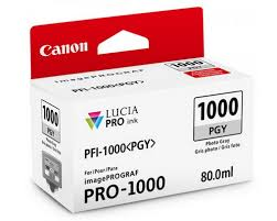 <b>Canon PFI-1000</b>-<b>PGY Photo</b> Grey Ink Cartridge for iPF PRO 1000
