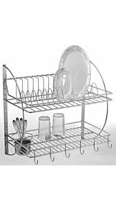 Kitchen Racks Stainless Steel Buy Silver Stainless Steel Kitchen Rack Online At Low Prices In