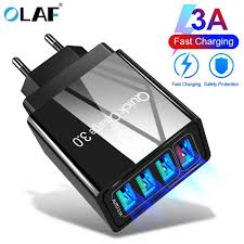 <b>OLAF</b> 2M 3A <b>Magnetic</b> Cable Quick charge 3.0 Micro <b>USB</b> Charger ...